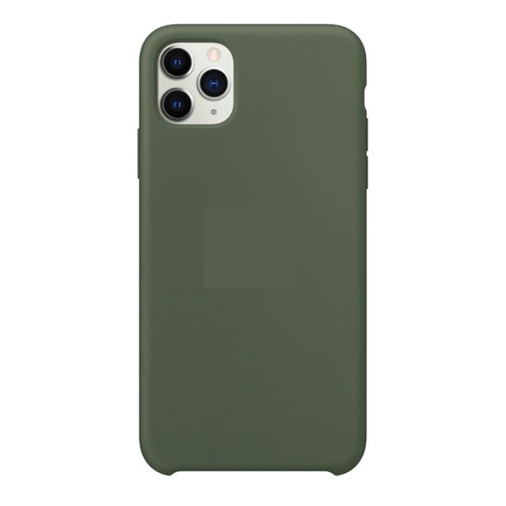 Чехол iPhone 11 Pro Max Silicon Case под ориг хаки