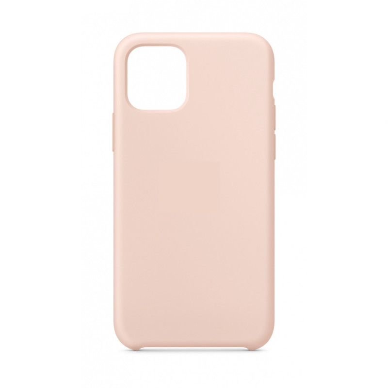 Чехол iPhone 11 Pro Max Silicon Case под ориг пудровыый