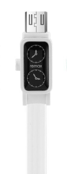 Кабель USB micro Remax RC-113000 mm Watch 1000 mm белый