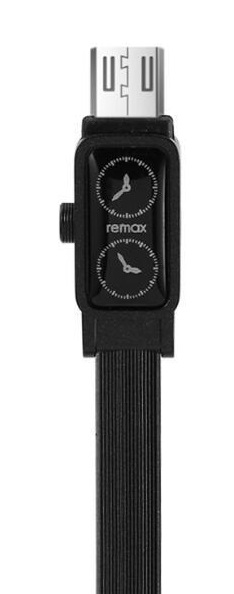 Кабель USB micro Remax RC-113m Watch 1м черный