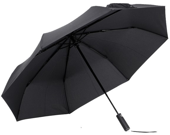 Зонт Xiaomi MiJia Automatic Umbrella (Черный)