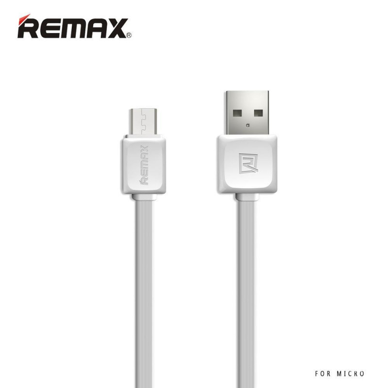 Кабель USB micro Remax RC-008m Fast 1000 mm белый