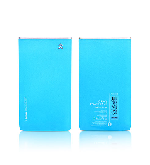 Power Bank 5000 mAh Remax Crave RPP-78 (голубой)