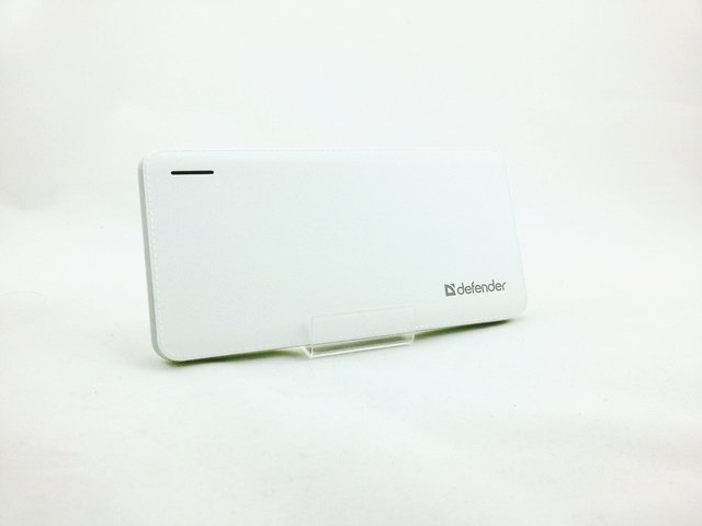 Power Bank 10000 mAh Defender Tesla 83639 (белый)