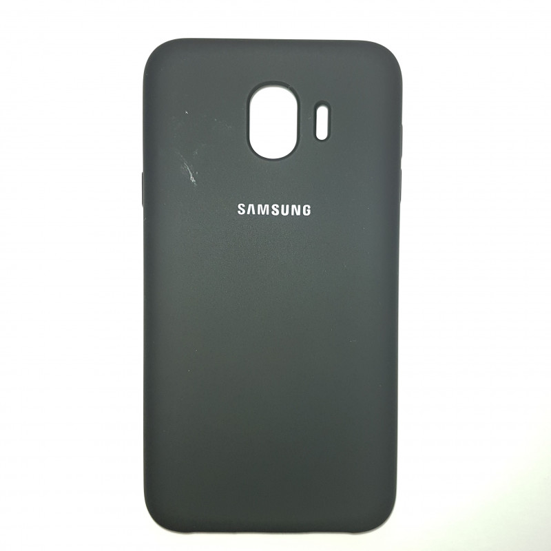 Чехол Samsung J4(2018) Silicon Cover Original черный
