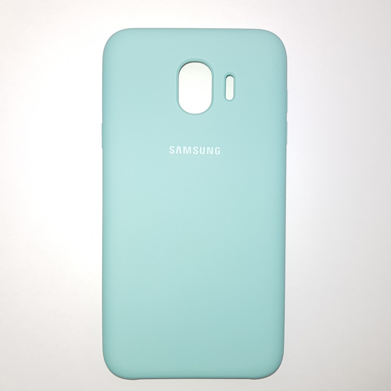 Чехол Samsung J4(2018) Silicon Cover Original мятный