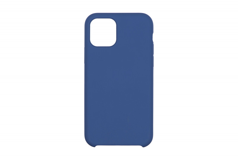 Чехол iPhone 11 Silicon Case под ориг синий меланж