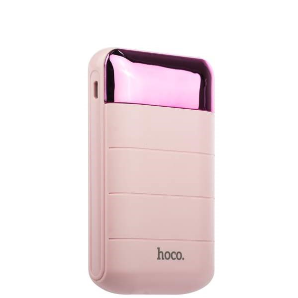 Power Bank 10000 mAh Hoco B29 Domon power bank (розовый)