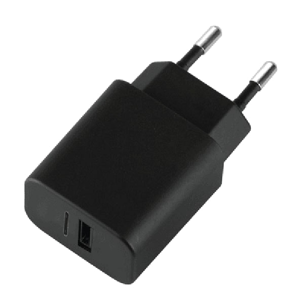 СЗУ USB 1Sockets Afka-Tech 0.8A черный