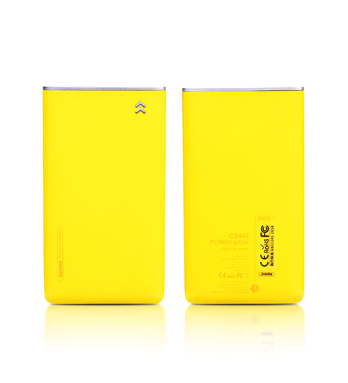 Power Bank 5000 mAh Remax Crave RPP-78 желтый