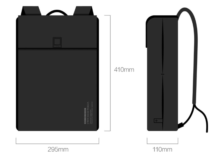 Рюкзак+Папка для ноутбука Xiaomi Qi City Business Multifunction Computer Bag