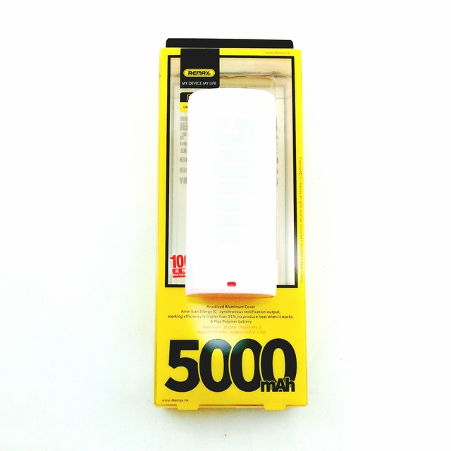 Power Bank 5000 mAh Remax E5 Original (розовый)