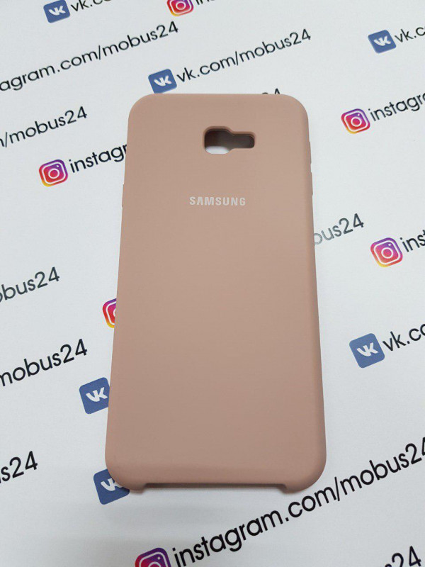 Чехол Samsung J4(2018) Plus Silicon Cover Original конфетный