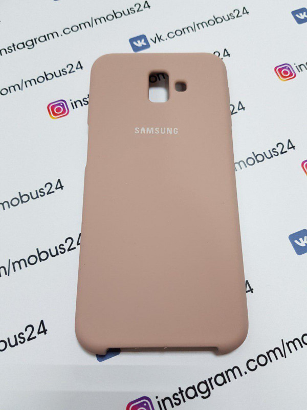 Чехол Samsung J6(2018) Plus Silicon Cover Original конфетный
