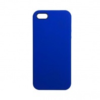 Чехол iPhone 5/5S/5SE Silicon Case под ориг индиго