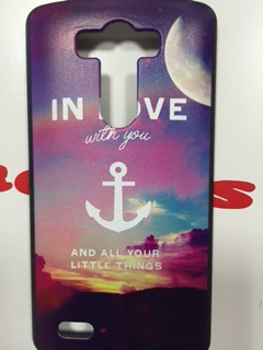 Накладка LG G3 In love with you пластик SALE