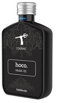 Power Bank Hoco J21 Cognac 10000 mAh (черный)