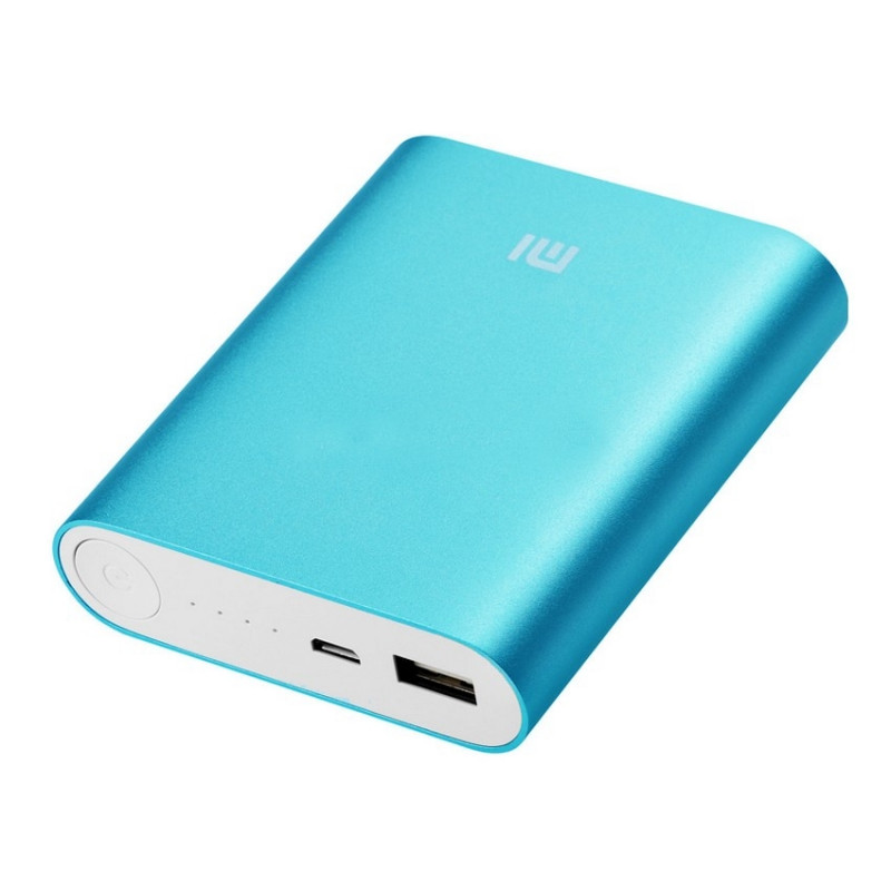Power Bank 10000 mAh Mi (голубой)