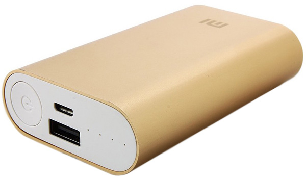 Power Bank 10000 mAh Mi (золото)