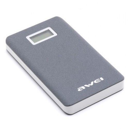 Power Bank 10000 mAh Awei P83K (серый)