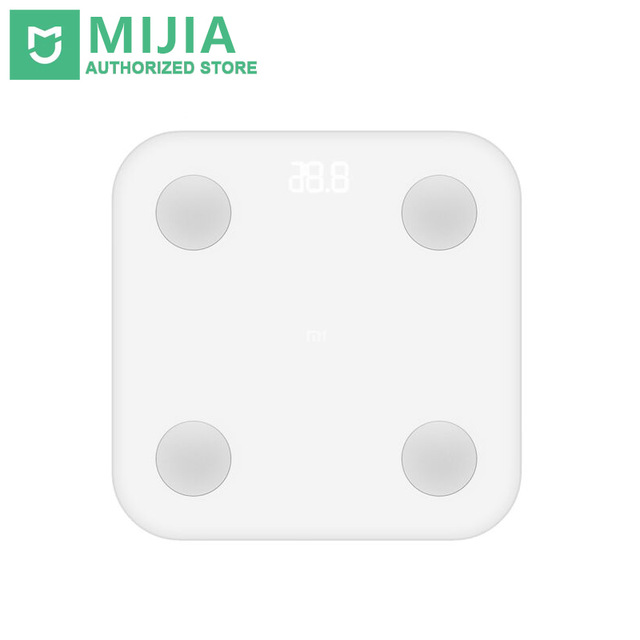 Умные весы Xiaomi Mi Body Composition Scale белый