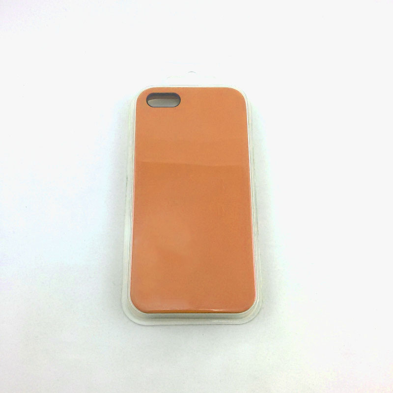 Чехол iPhone 5/5S/5SE Silicon Case под ориг хаки