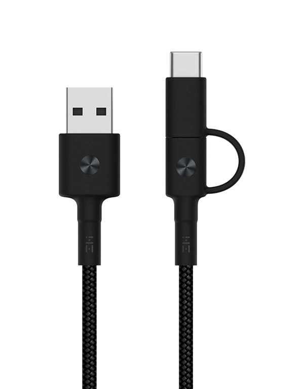 Кабель Xiaomi ZMI USB - Type-C Charge Cable 100 см (AL501) черный