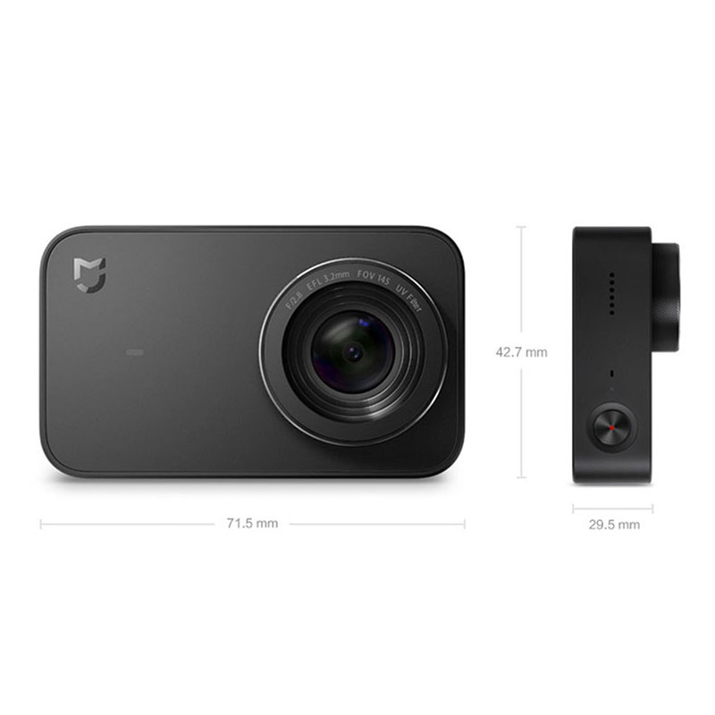 Экшн-камера Xiaomi Mijia Small Camera черный