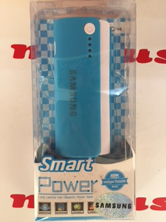 Power Bank Power Bank 5600 mAh Samsung бело-(голубой)
