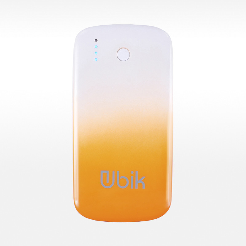Power Bank 5000 mAh Ubik UP-PB 5000S Slim оранжевый