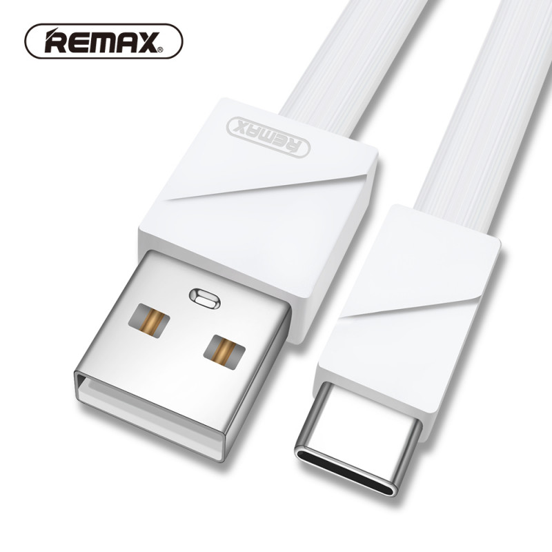 Кабель USB type-c Remax Blade Data Cable RC-105a белый