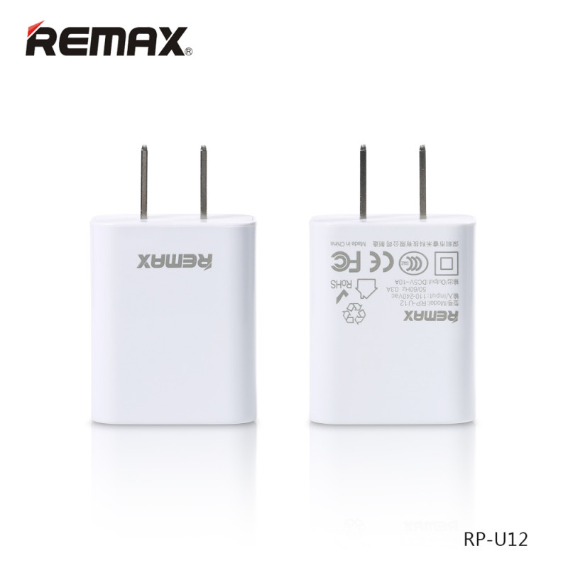 СЗУ USB 1Sockets Remax (распродажа) U12 1.0A белый