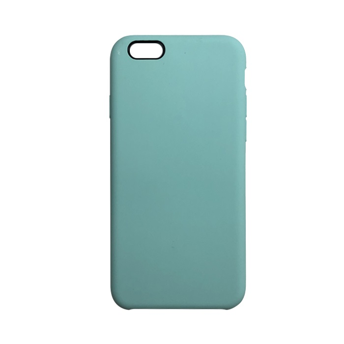 Чехол iPhone 6/6S Silicon Case под ориг мятный