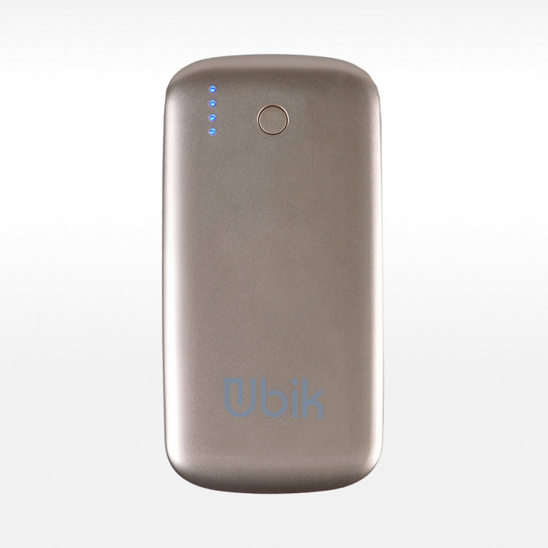 Power Bank 5000 mAh Ubik UP-PB 5000S Slim (золото)