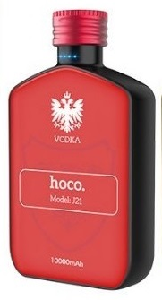 Power Bank Hoco J21 Vodka 10000 mAh (красный)
