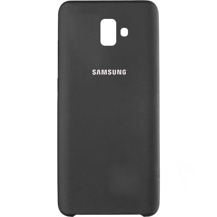 Чехол Samsung J6(2018) Plus Silicon Cover Original угольный