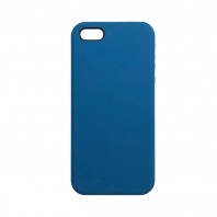Чехол iPhone 5/5S/5SE Silicon Case под ориг морской